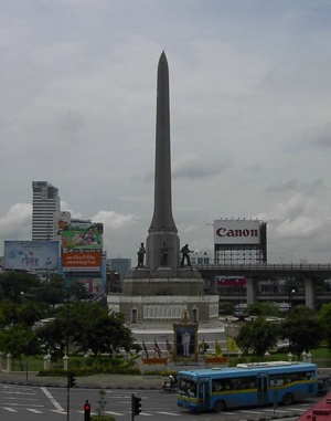 Victory Monument in Bangkok, Thailand