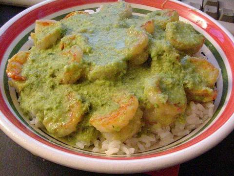 Thai food - Green curry